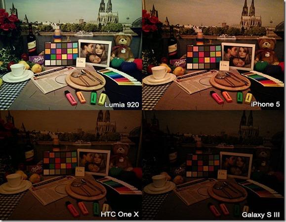 foto comparacion baja luminosidad