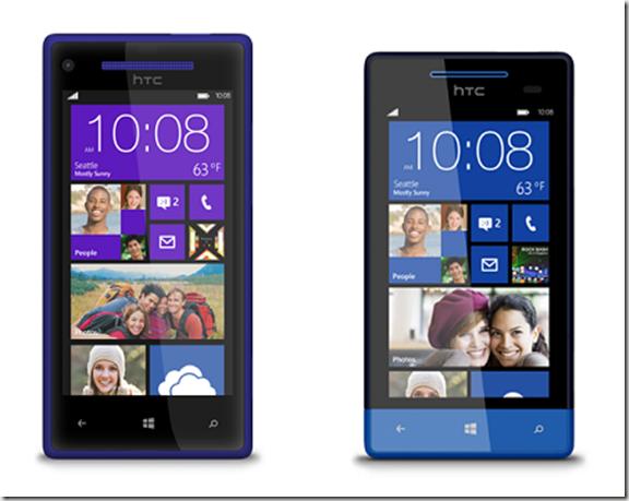 HTC 8X & 8S