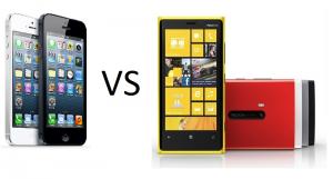 iPhone 5 vs Lumia 920