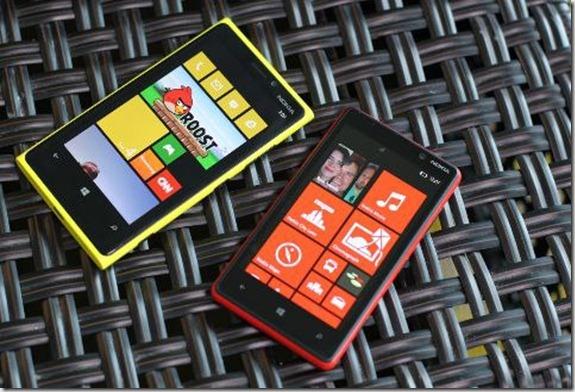 lumia 920 y lumia 820