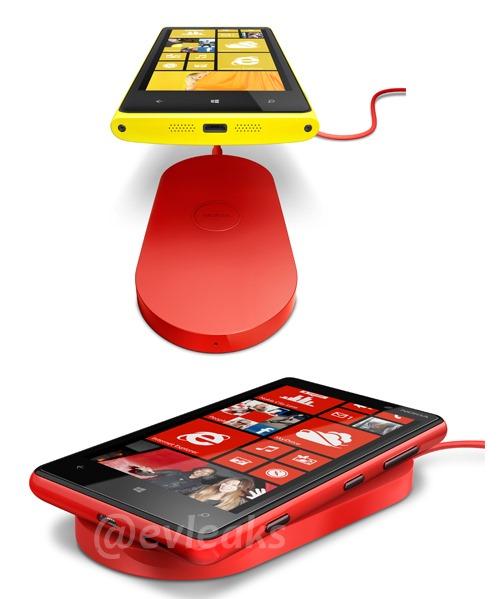 Carga inalambrica de los Nokia 920 y 820