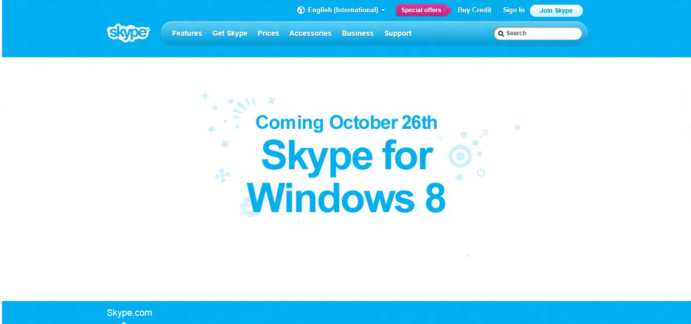 Skype para Windows 8_8