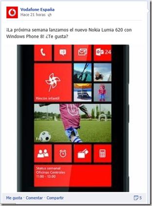 Lumia 620 Vodafone
