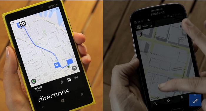 mapas offline lumia 920 Galaxy S III