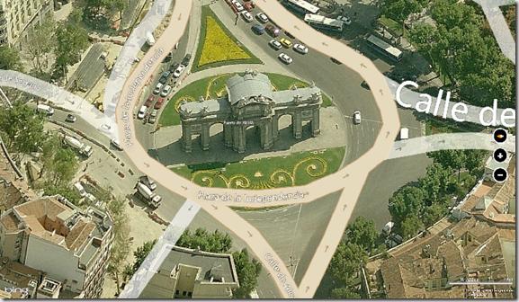 Captura Bing Maps app