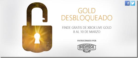 fin de semana xbox gold gratis