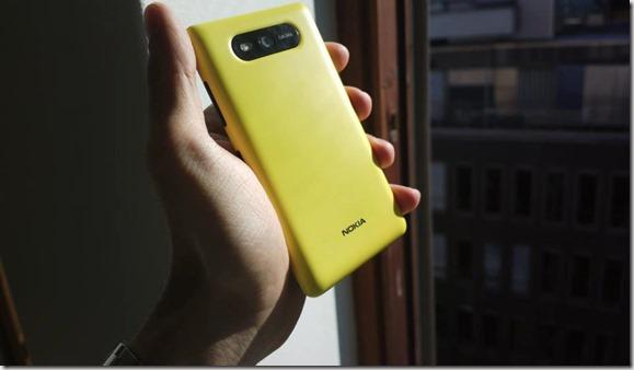 Lumia con posible carga solar