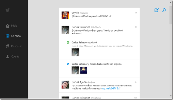 twitter W8 Oficial