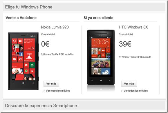 Windows Phone Vodafone
