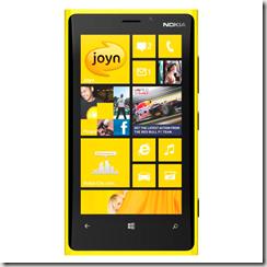 Joyn en Lumia 920
