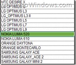 Lumia 520 en porfolio orange