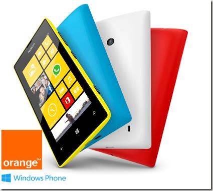 Lumia 520 orange