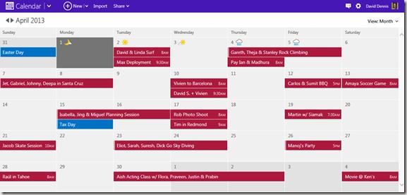 nuevo calendario Outlook