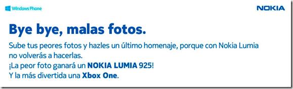 concurso nokia lumia 925