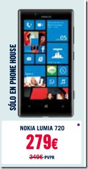 Lumia 720 promocion en Phone House