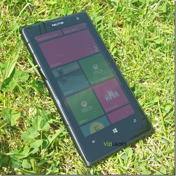Nokia EOS Ejecutando WP