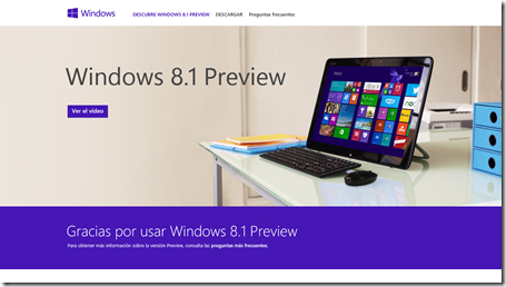 windows 8.1 preview web