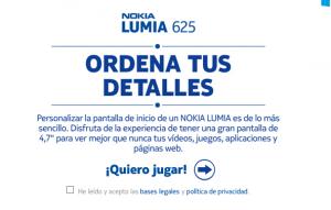 Concurso Lumia 625