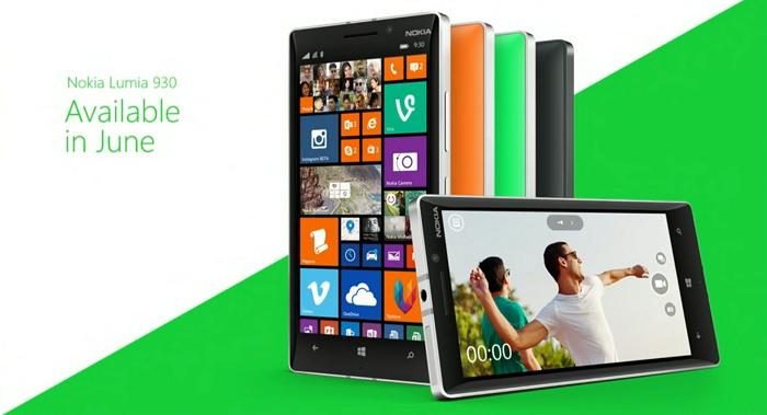 Lumia 930 en Junio