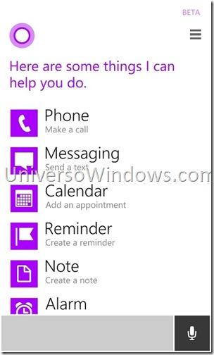 WP 8.1 Cortana  (2.2)