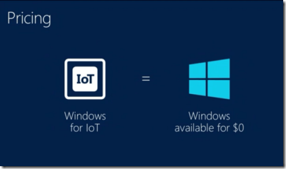 windows free for iot