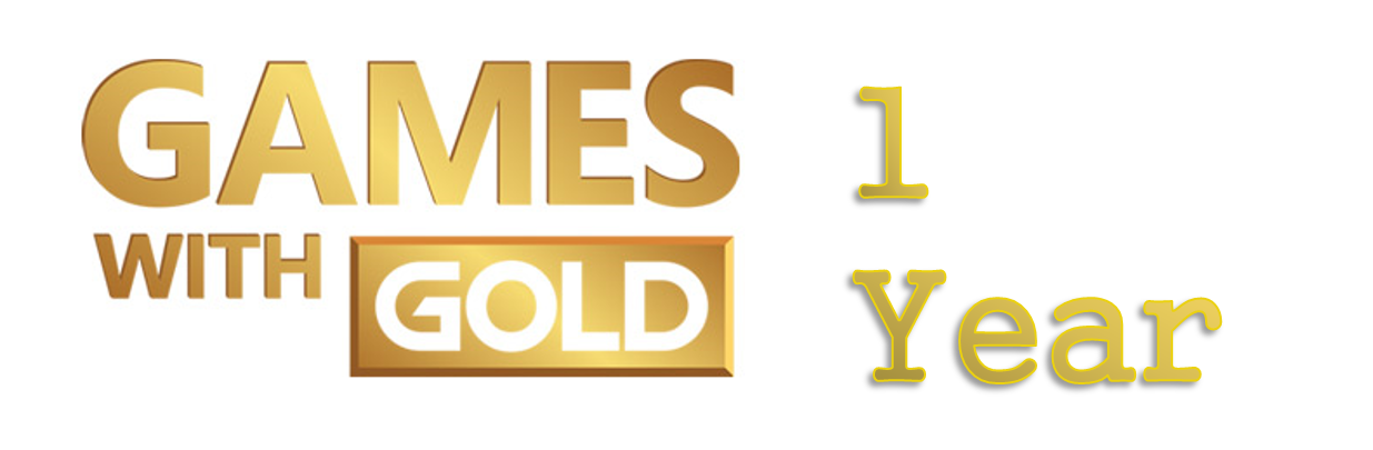 Games With Gold 1 year