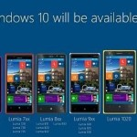 Todos los modelos de Microsoft Lumia recibirán Windows 10