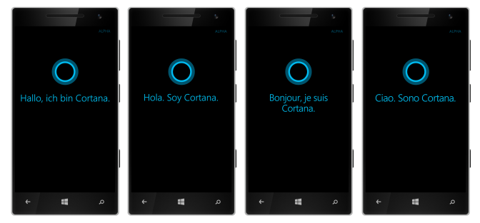 Cortana multi